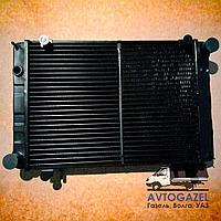 Медный 3-х рядный радиатор