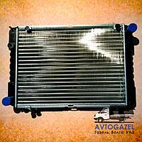 Алюминиевый 3-х рядный радиатор Газель