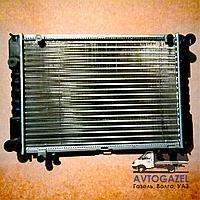 Алюминиевый 2-х рядный радиатор Газель