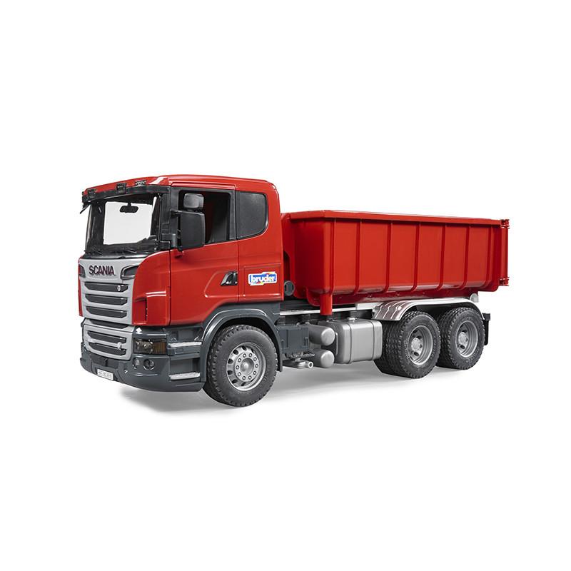 Игрушка Самосвал-контейнеровоз Scania 03-522