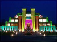 Архитектурное освещение территорий монтаж освещения, настройка подсветки фасадов зданий, подбор оборудования.