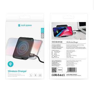 Беспроводное зарядное устройство Rock W6 Qi, фото 2