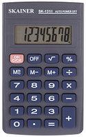 "Калькулятор карманный SKAINER ""131II"" 8-разрядный"