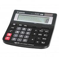 """Калькулятор настольный CANON """"WS-220TC"""" 12-разрядный черный"""