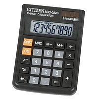 """Калькулятор настольный CITIZEN """"SDC-022S"""" 10-разрядный"""