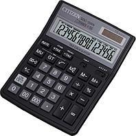 """Калькулятор настольный CITIZEN """"SDC-395"""" 16-разрядный черный"""