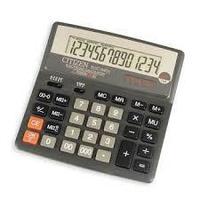 """Калькулятор настольный CITIZEN """"SDC-640"""" 14-разрядный"""
