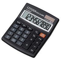 """Калькулятор настольный CITIZEN """"SDC-810"""" 10-разрядный черный"""