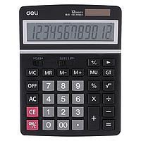 """Калькулятор настольный DELI """"1631"""" 12 разрядный черный"""