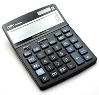 """Калькулятор настольный DELI """"39259"""" 16 разрядный черный"""