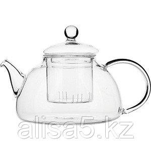 Чайник заварочный PROHOTEL 700 мл термостойкое стекло, шт.