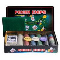 "Набор для покера Perfecto ""Professional Poker Chips"" 500 фишек с номиналом"