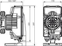 Дозирующий насос AKL600, фото 1