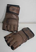 Перчатки ММА кожаные Hayabusa