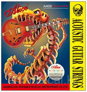 Струны для акустической гитары Alice A406-L