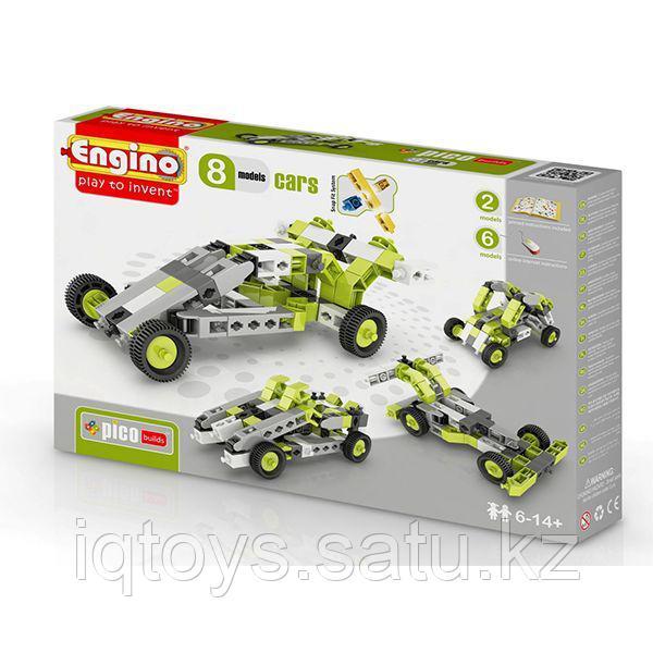 Конструктор ENGINO PB 21/0831 INVENTOR Автомобили 8 моделей
