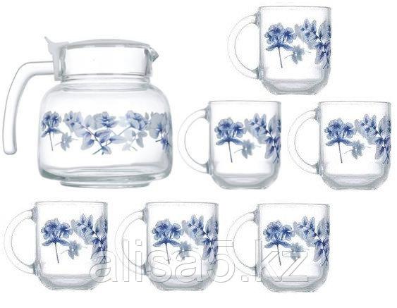 Altesse blue сервиз чайный 7 предметов