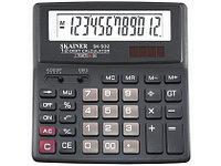 """Калькулятор настольный SKAINER """"502II"""" 12 разрядный черный"""
