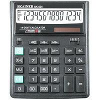 """Калькулятор настольный SKAINER """"524II"""" 14 разрядный черный"""