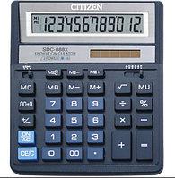 """Калькулятор настольный SKAINER """"888XBL"""" 12 разрядный синий"""