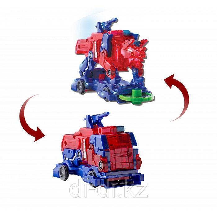 Машинка-трансформер Дикие Скричеры.  Пирозавр Screechers Wild