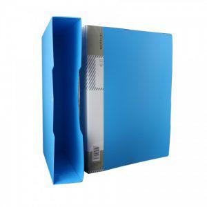 """Папка с файлами DELI """"Plus"""" на 80 вкладышей, 1,0 мм, в боксе, ассорти"""