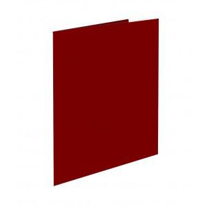 """Папка с файлами SILWERHOF """"BASIC"""" на 10 вкладышей, красная"""