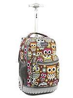 """Школьный рюкзак  на колесах Tilami модель """"Owls"""" (Сова)"""