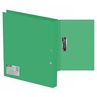 "Папка с зажимом SILWERHOF ""Basic"", A4, 0.5 мм, зеленая"