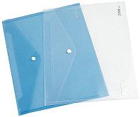 Папка-конверт на кнопке DELI, А4, 0,16 мм, ассорти