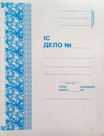 Папка-скоросшиватель картонная KUVERT, А4 формат, 300 гр, белая