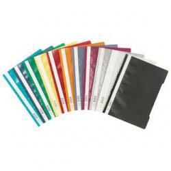 Папка-скоросшиватель DURABLE, А4, 180/200 мкм, черная