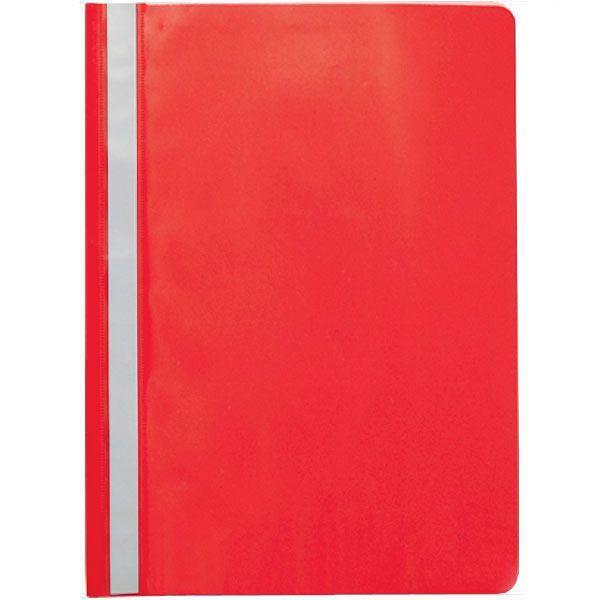 Папка-скоросшиватель SPONSOR, А4, 160/180 мкм, бордовая