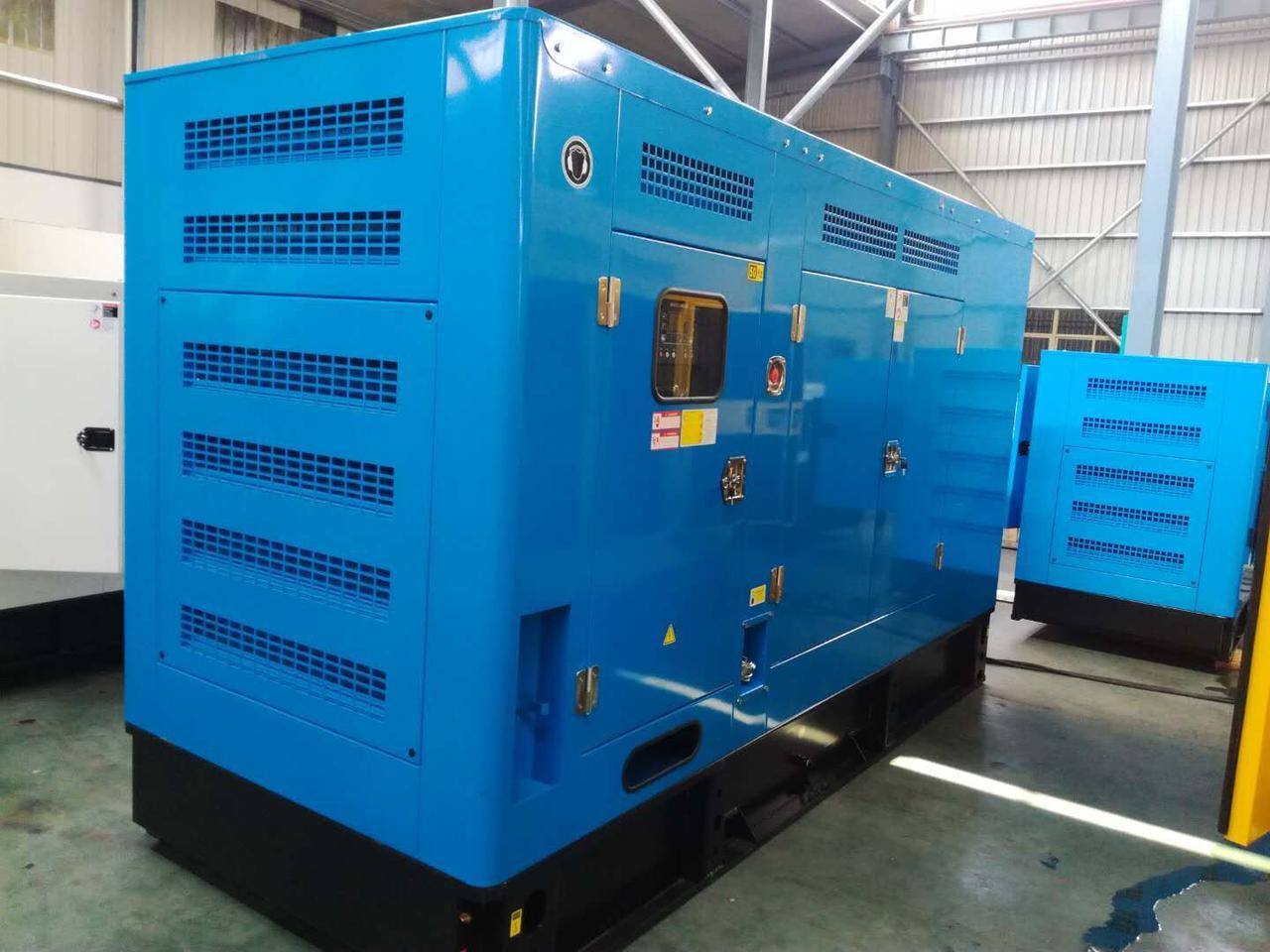Бесшумная дизель-генераторная установка  50кВА