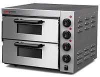 Электрическая печь для пиццы двух уровневая
