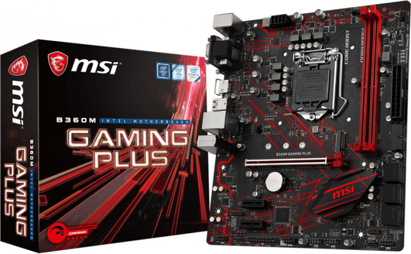 Сист. плата MSI H370 GAMING PLUS, H370