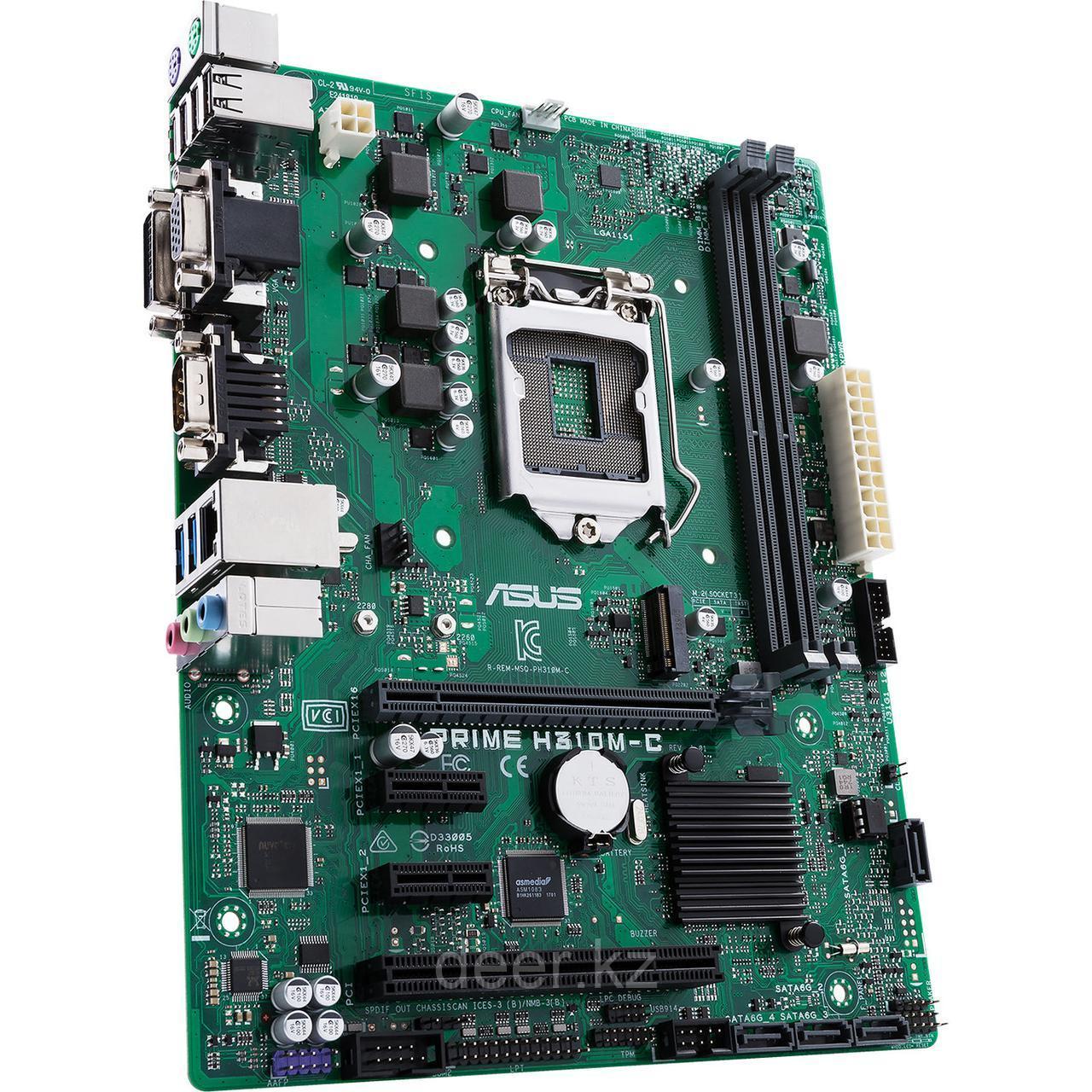 Сист. плата Asus PRIME H310M-C, H310