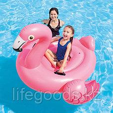 "Надувной плотик для плавания ""Розовый фламинго"", Intex 57558, фото 2"