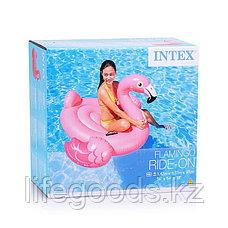 "Надувной плотик для плавания ""Розовый фламинго"", Intex 57558, фото 3"