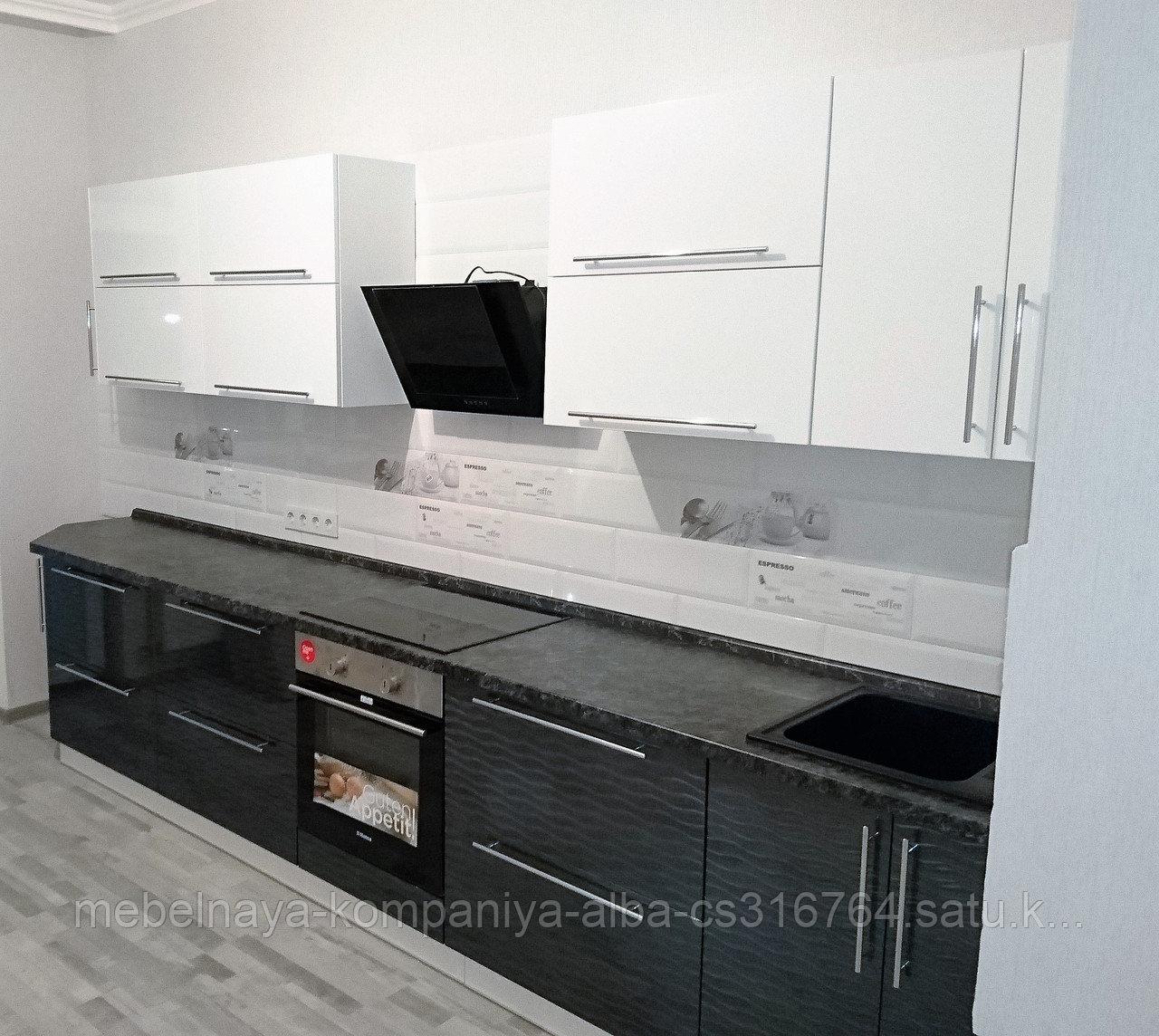 Кухонный гарнитур с фасадами МДФ