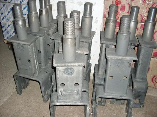 Стойка батареи наружняя (БДТ-7) изогнутая БДЮ 01.020А, фото 2
