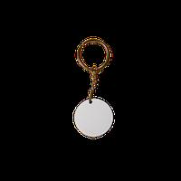 """Брелок для ключей """"Круг""""  3,6х3,6см"""