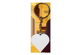 """Брелок для ключей """"Сердце"""" , 3,5х3,8 см"""