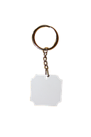 """Брелок для ключей """"Квадрат без  углов"""" 3,6х3,6см"""