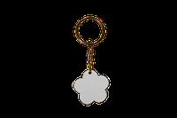 """Брелок для ключей """"Цветок"""" 3,6х3,7см"""
