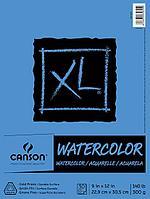 Акварельная бумага Canson XL Watercolor Paper Pad, 30 листов 22,9х30,5 см