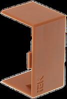 Соединитель на стык 20х10 КМС дуб, фото 1