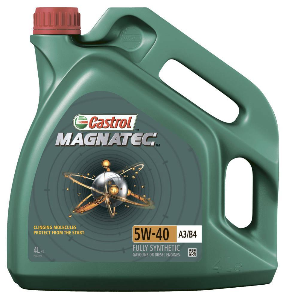 Моторное масло Castrol MAGNATEC 5W-40 A3/B4 4L(Великобритания)