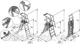Промышленные лестницы из холодногнутых профилей