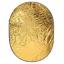 Фото отражатель 90 × 120 см 5 в 1 - золото, серебро, белый, чёрный, рассеиватель, фото 2